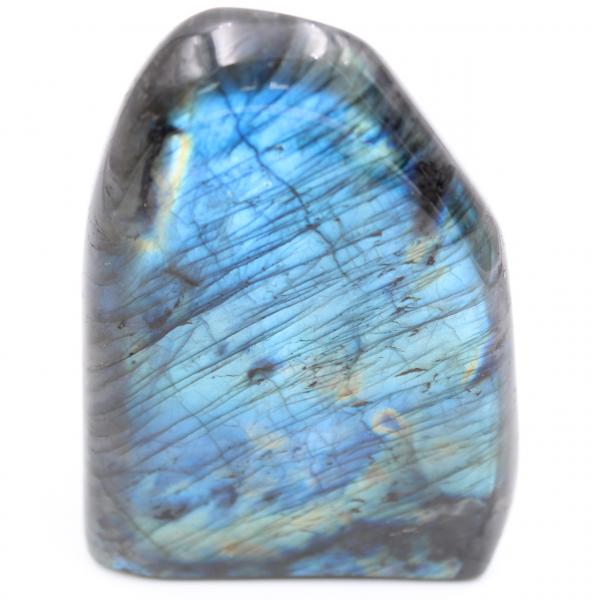 Bloc de labradorite bleue, pierre d'ornement