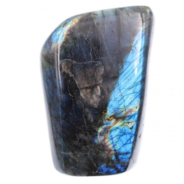 Labradorite bleue, pierre de décoration