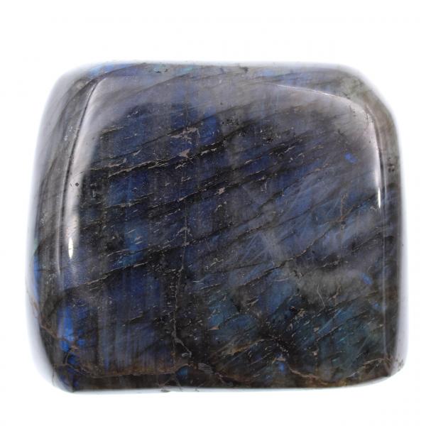 Labradorite, forme libre entièrement polie