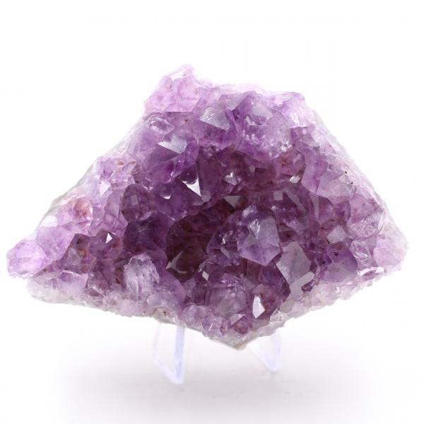 Grands cristaux d'améthyste
