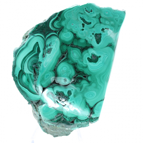 Malachite pierre semi-polie