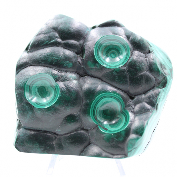 Malachite pierre semi-polie