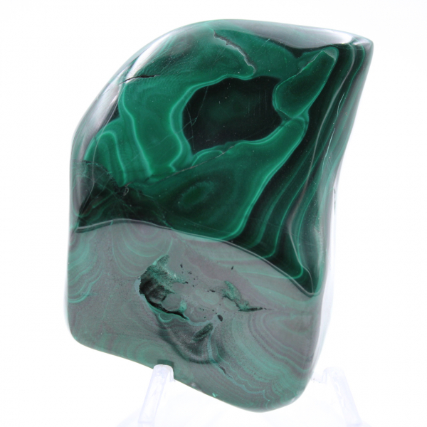 Bloc de malachite naturelle