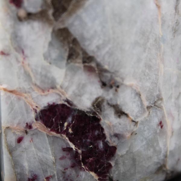 Prisme de lépidolite