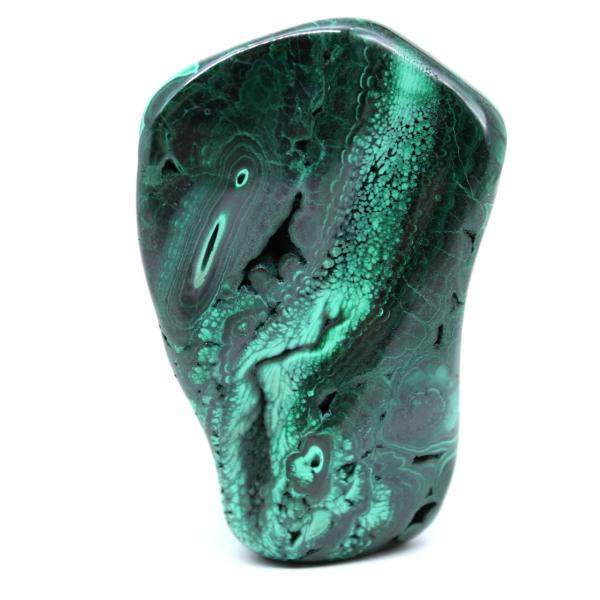 Malachite pierre d'ornement