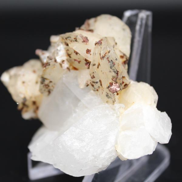 Sidérite sur quartz