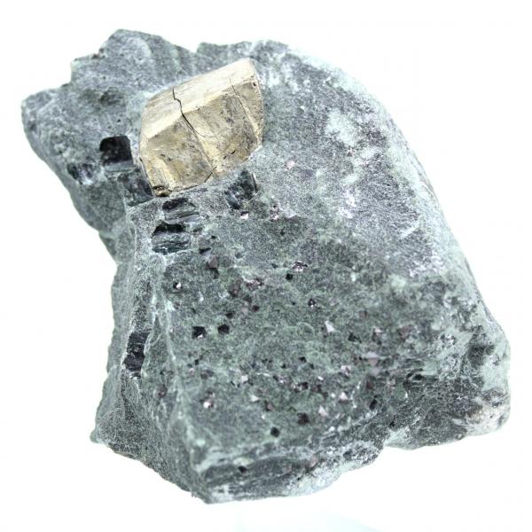 Magnétite et pyrite