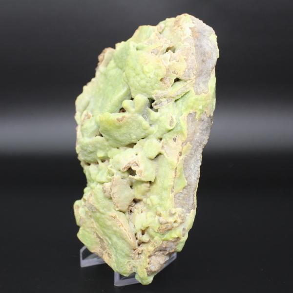 Pyromorphite verte en plaque