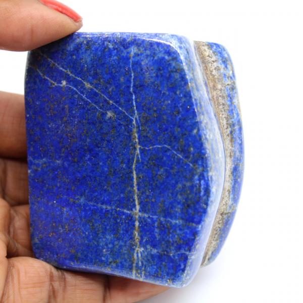 Lapis-lazuli naturelle polie