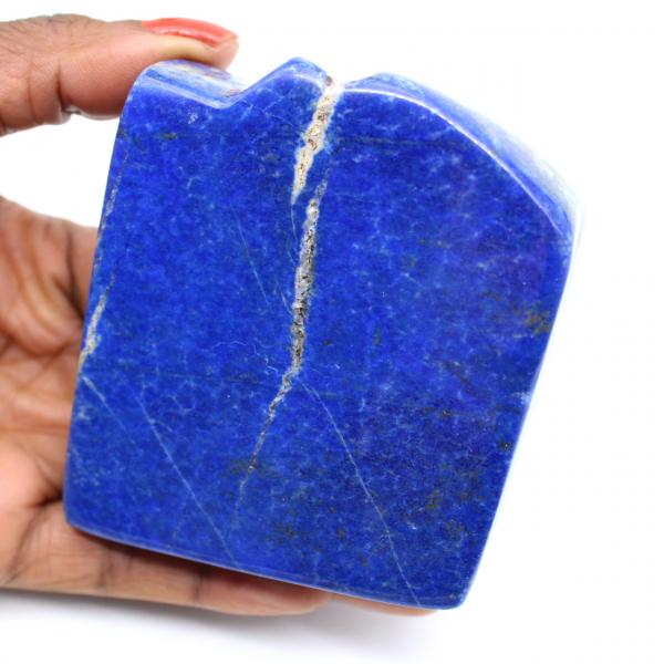 Pierre de décoration en Lapis-lazuli