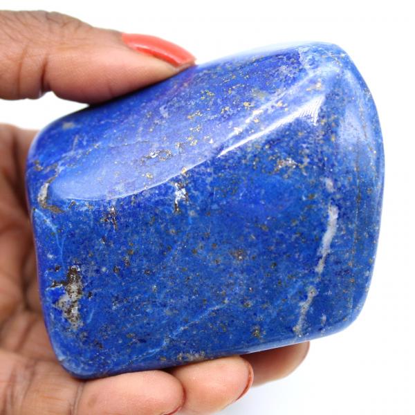 Lapis-lazuli polie pierre d'ornement