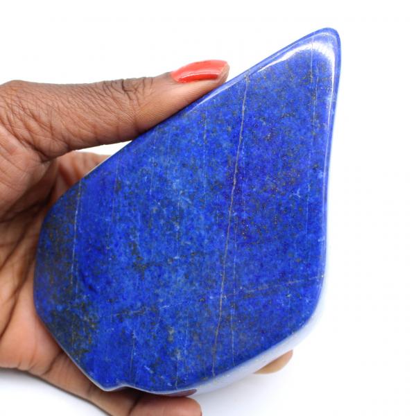 Lapis-lazuli polie pour collection
