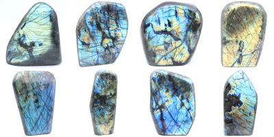 Grandes labradorites top qualité Madagascar collection février 2021